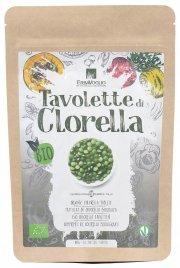 TAVOLETTE DI CLORELLA La Clorella biologica cruda è in assoluto il cibo più ricco di clorofilla