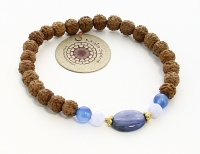 GIOIELLI MALA - SPIRITUAL GUIDANCE BRACELET Simbolo di compassione e favoriscono equilibrio, pace e consapevolezza.