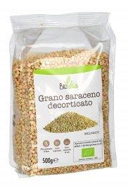 SEMI DI GRANO SARACENO DECORTICATO BIO Fonte di proteine e fibre vegetali. Per una dieta sana e consapevole
