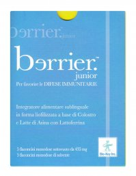 INTEGRATORE NATURALE SUBLINGUALE - BERRIER JUNIOR Per favorire le difese immunitarie