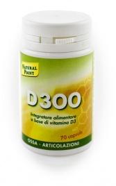D300 CON VITAMINA D3 Integratore alimentare a base di vitamina D3