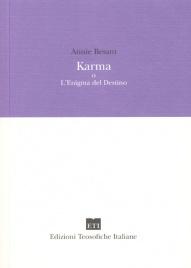 KARMA O L'ENIGMA DEL DESTINO di Annie Besant