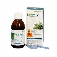 LARIMUCIL TOSSE E GOLA - ADULTI E BAMBINI Integratore alimentare ad azione lenitiva. Contrasta mal di gola e tosse influenzale