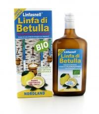 LINFA DI BETULLA - LIMONE Bevanda a base di linfa di Betulla fresca al gusto di limone