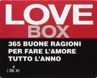 LOVE BOX 365 buone ragioni per fare l'amore tutto l'anno