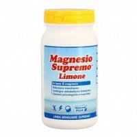 MAGNESIO SUPREMO®  AL LIMONE Formula originale, aromatizzato al limone.