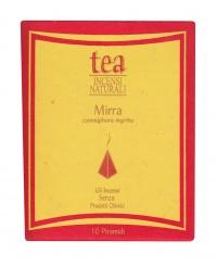 MIRRA - INCENSO NATURALE - PIRAMIDI Commiphora Myrrha - Incenso senza prodotti chimici