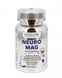 NEURO MAG - CONTRO STANCHEZZA ED AFFATICAMENTO Integratore alimentare a base di magnesio per ridurre stanchezza ed affaticamento mentale