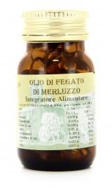 OLIO DI FEGATO DI MERLUZZO PERLE Integratore alimentare ricco di vitamine A e D
