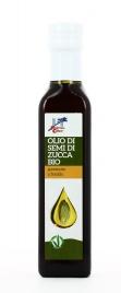 OLIO DI SEMI DI ZUCCA BIO Olio per uso alimentare, 100% biologico, per piatti leggeri e ricchi di gusto