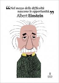 POSTER ALBERT EINSTEIN di Mikel Casal
