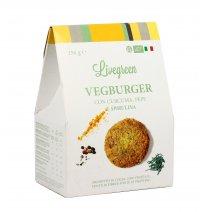 PREPARATO PER VEGBURGER CON CURCUMA, PEPE E SPIRULINA Prodotto in Italia. 100% vegetale e biologico