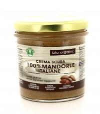 CREMA SCURA - 100% MANDORLE Senza zuccheri aggiunti e senza glutine