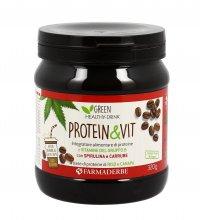 PROTEIN & VIT GUSTO CAFFè Integratore alimentare di proteine. 100% vegetale e senza glutine