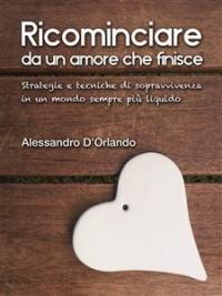 RICOMINCIARE DA UN AMORE CHE FINISCE (EBOOK) Strategie e tecniche di sopravvivenza in un mondo sempre più liquido di Alessandro D'Orlando