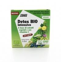 DETOX BIO INTENSIVO - DISINTOSSICANTE NATURALE Integratore alimentare intensivo a base di 16 piante e con vitamina C naturale, per favorire l'eliminazione delle tossine.
