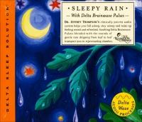 SLEEPY RAIN WITH DELTA BRAINWAVE PULSES Il dolce rumore della pioggia con impulsi che stimolano la creazione di onde cerebrali delta