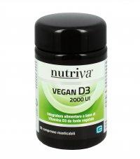 VEGAN D3 2000 UI Fonte vegetale di vitamina D3: utile per l'assorbimento di calcio e fosforo nelle ossa
