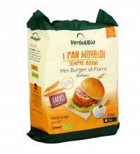 MINI BURGER DI FARRO - I PAN MORBIDI Senza latte, vegan e senza olio di palma