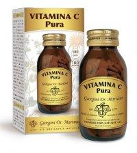 VITAMINA C PURA - PASTIGLIE Antiossidante, protegge le cellule dallo stress ossidativo