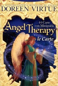 ANGEL THERAPY (LE CARTE DELLA DIVINAZIONE) 44 carte con Miniguida per la lettura e l'interpretazione dei simboli (Nuova Edizione) di Doreen Virtue