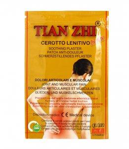 CEROTTI LENITIVI TIAN ZHI (OGNI PACCHETTO CONTIENE 4 CEROTTI) Utile per reumatismi, traumi, artralgie, lombalgie e contratture
