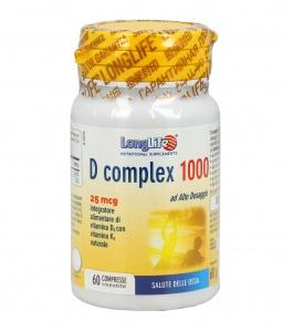 D COMPLEX 1000 Con vitamina D-3 e K-2. Per il benessere delle ossa