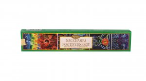 INCENSO NATURALE - NAG CHAMPA POSITIVE ENERGY Con ingredienti di origine vegetale. Per energizzare i tuoi ambienti