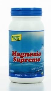 MAGNESIO SUPREMO® SOLUBILE Stanchezza e stress. Formula Originale.