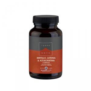 MIRTILLO, LUTEINA E ASTAXANTINA COMPLEX Utile per il benessere e la salute della vista. Fonte di antiossidanti