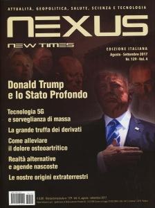 NEXUS NEW TIMES N. 129 - AGOSTO/SETTEMBRE 2017 Rivista bimestrale - Edizione italiana