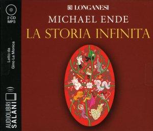LA STORIA INFINITA - AUDIOLIBRO 2 CD MP3 Letto da Gino La Monica di Michael Ende