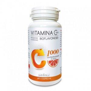 VITAMINA C 1000 CON BIOFLAVONOIDI DA AGRUMI Integratore alimentare di vitamina C per le tue normali difese immunitarie