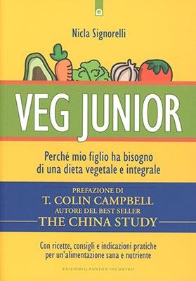 "Anteprima del libro ""Vegan Junior"" di Nicla Signorelli"